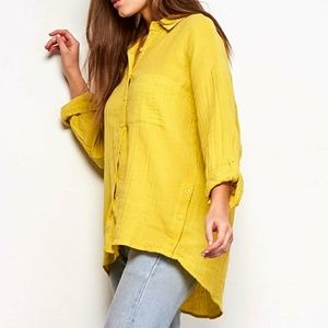 BB Dakota Button Shirt 🌻 NWT